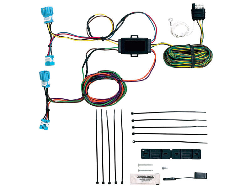 Blue Ox EZ Light Wiring Harness BX88281 (fits Honda CR-V 2007-2011) - FREE Shipping in Contiguous US!