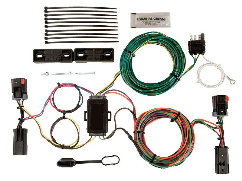 Blue Ox EZ Light Wiring Harness BX88283 (Jeep Liberty 2002-2007) - FREE Shipping in Contiguous US!