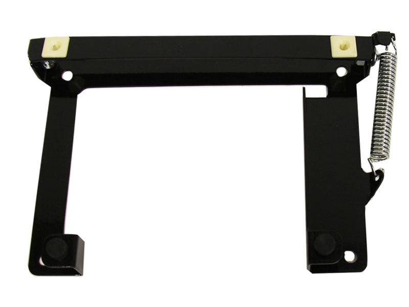Spring-Loaded License Plate Bracket