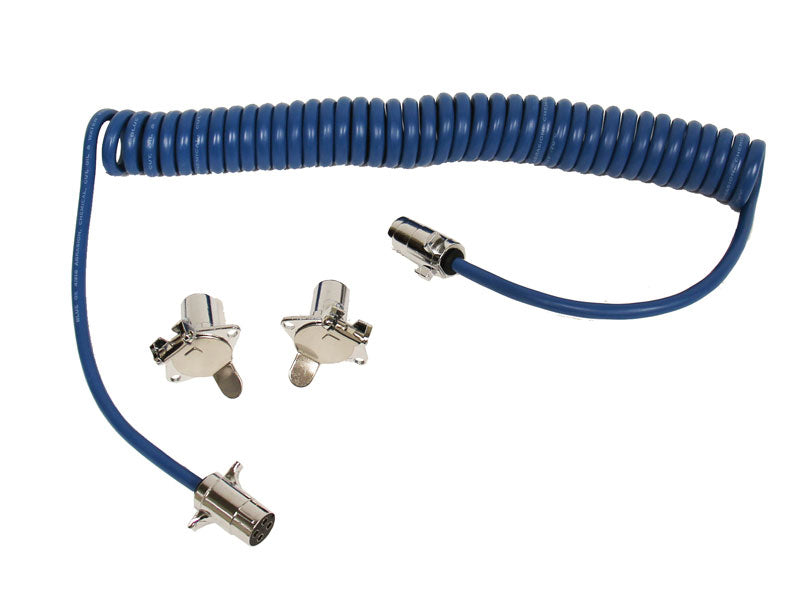 Blue Ox 4-Wire Electrical Coiled Cable Extension BX8861 - Ships for just $6.95 in Contiguous US!