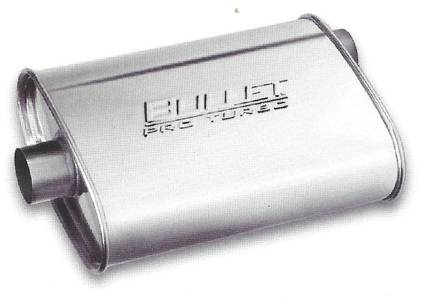 "4.5"" x 10"" Oval Bullet Pro Turbo Muffler (2 sizes available)  -FREE Shipping in Contiguous US!"