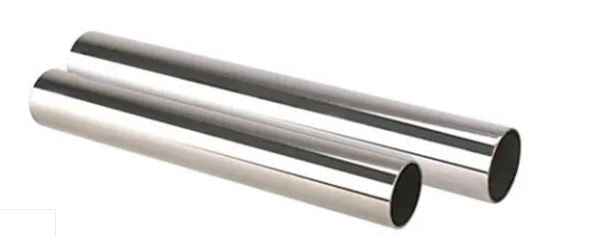 "2-1/2"" OD Polished Stainless Steel Exhaust Tubing, 304, Welded 14 Gauge (.083"") - 2' Length. -FREE Shipping in Contiguous US!"