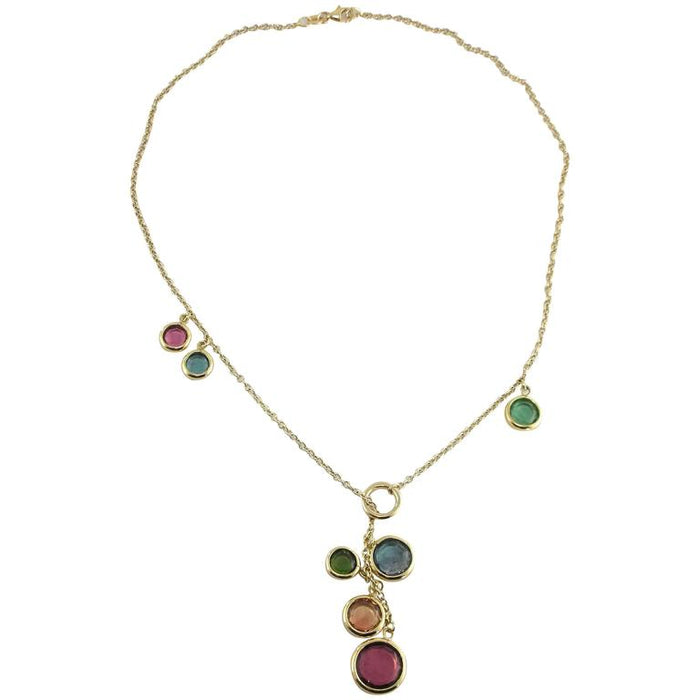 Tourmaline Gold Chain Necklace