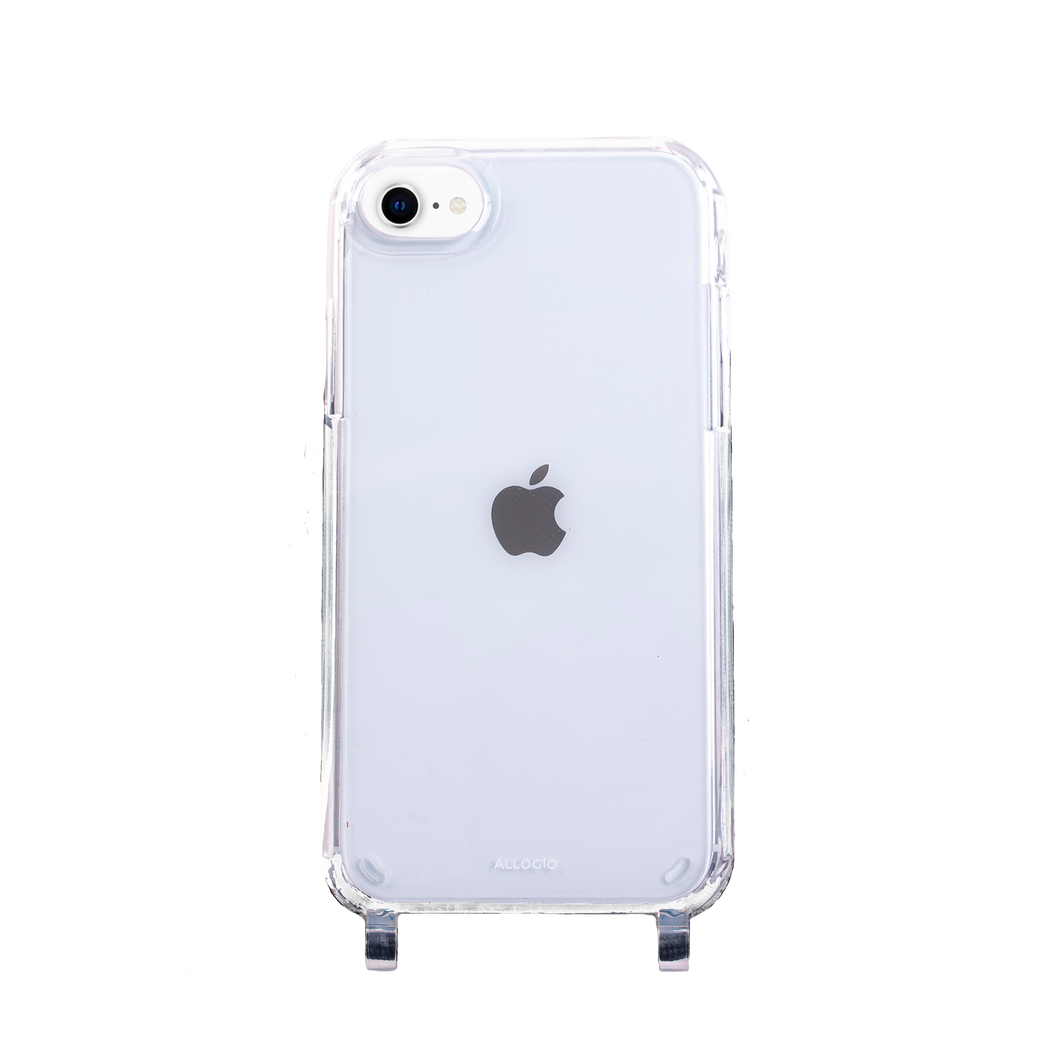 Clear Case + Big Rope - iPhone 6/7/8/SE (2020) - Allogio