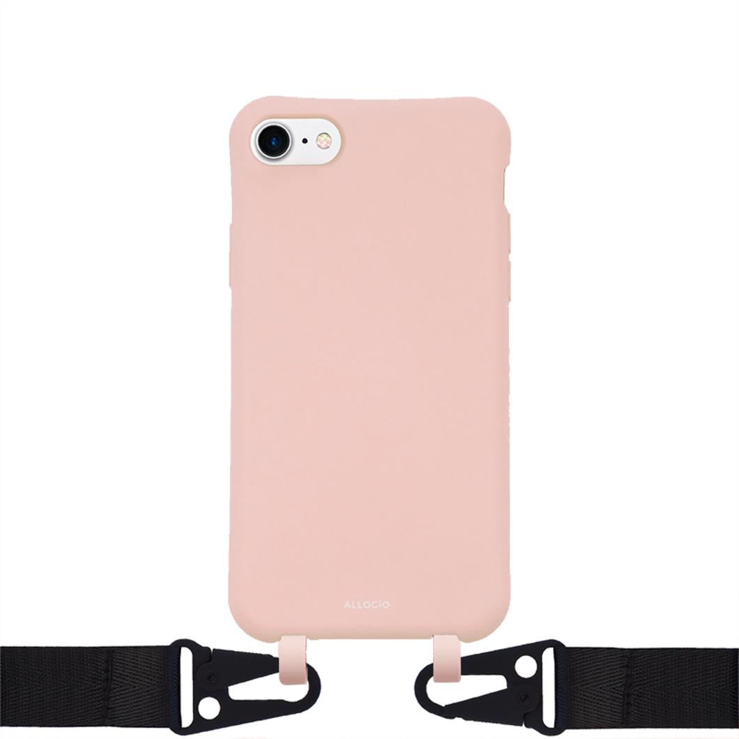 Hanna Case + Big Rope - iPhone 6/7/8/SE / Black - Allogio