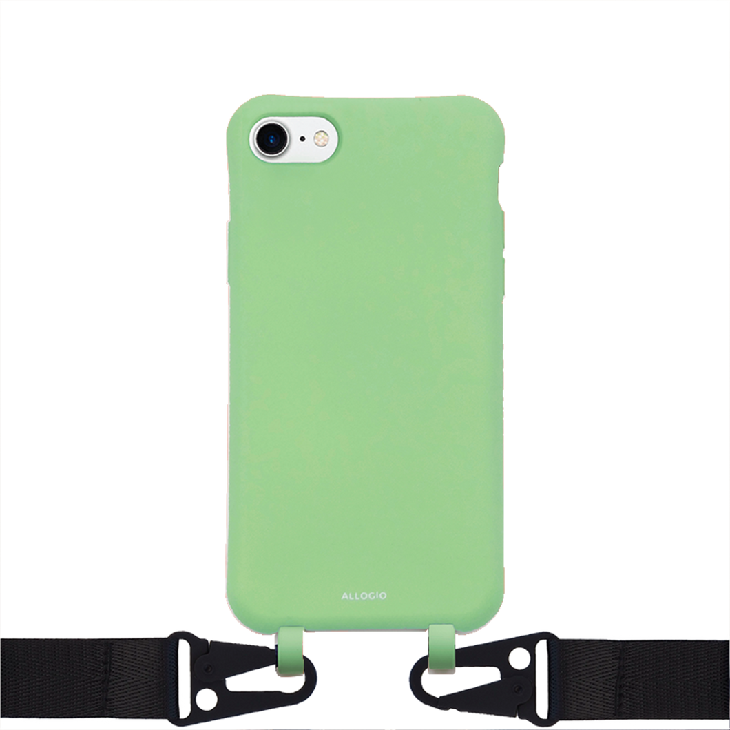 Lina Case + Big Rope - iPhone 6/7/8/SE / Black - Allogio