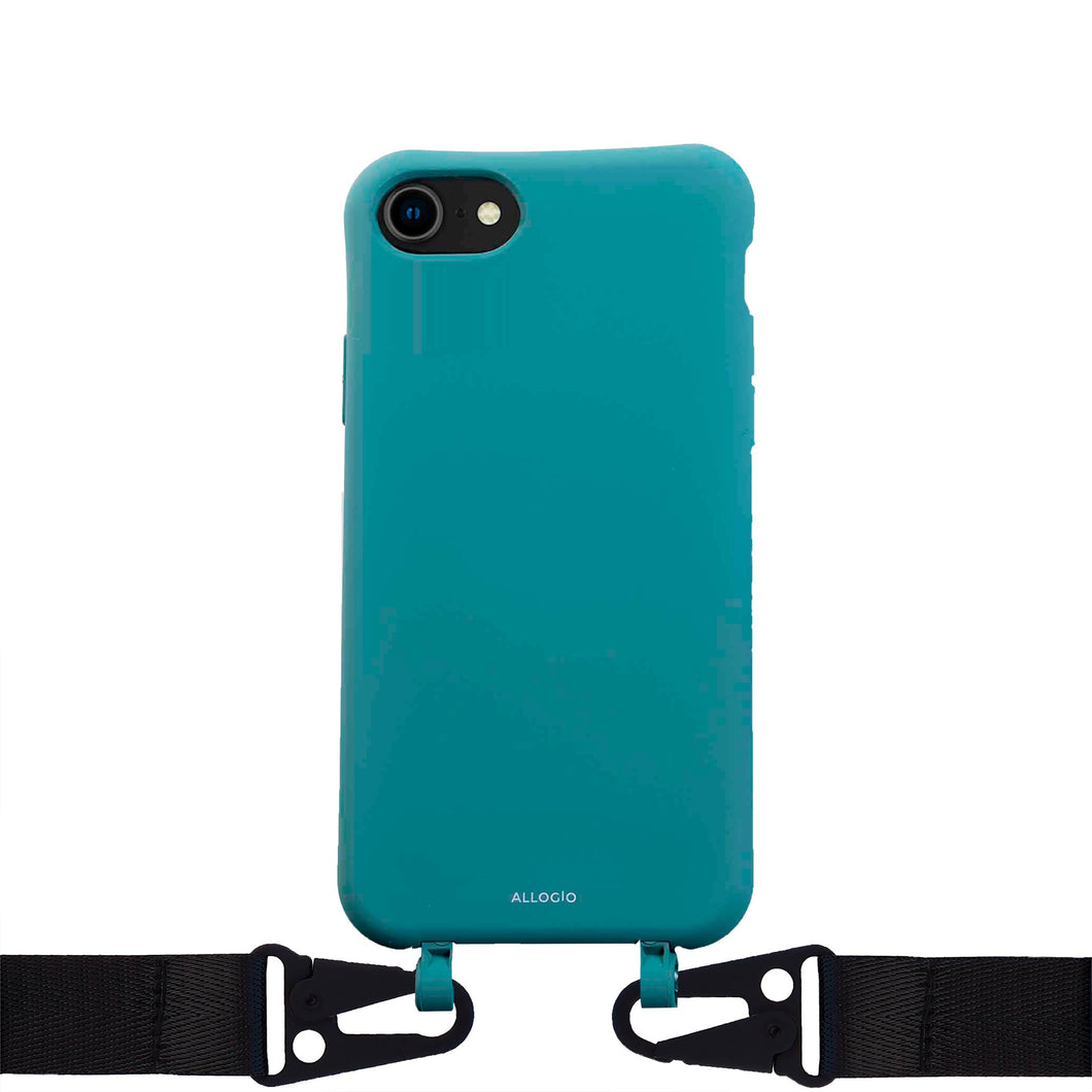 Effy Case + Big Rope - iPhone 6/7/8/SE / Black - Allogio
