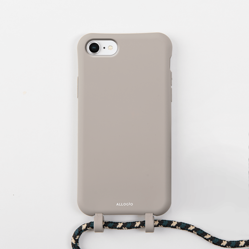 Amapola Tans Case + Rope - iPhone 6/7/8/SE (2020) - Allogio