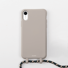 Load image into Gallery viewer, Tans Case + Rope - iPhone XR - Allogio