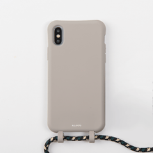 Load image into Gallery viewer, Tans Case + Rope - iPhones XS Max - Allogio