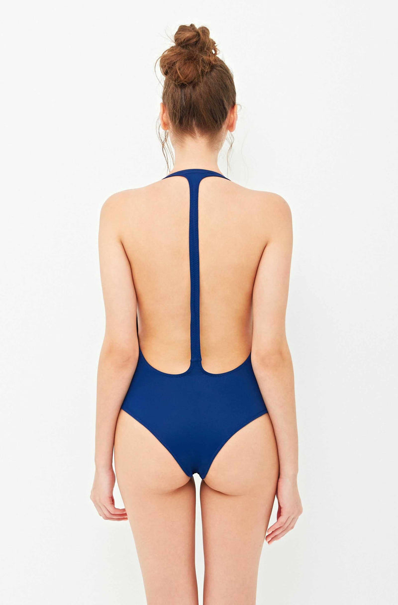 Flamingo One-Piece Navy