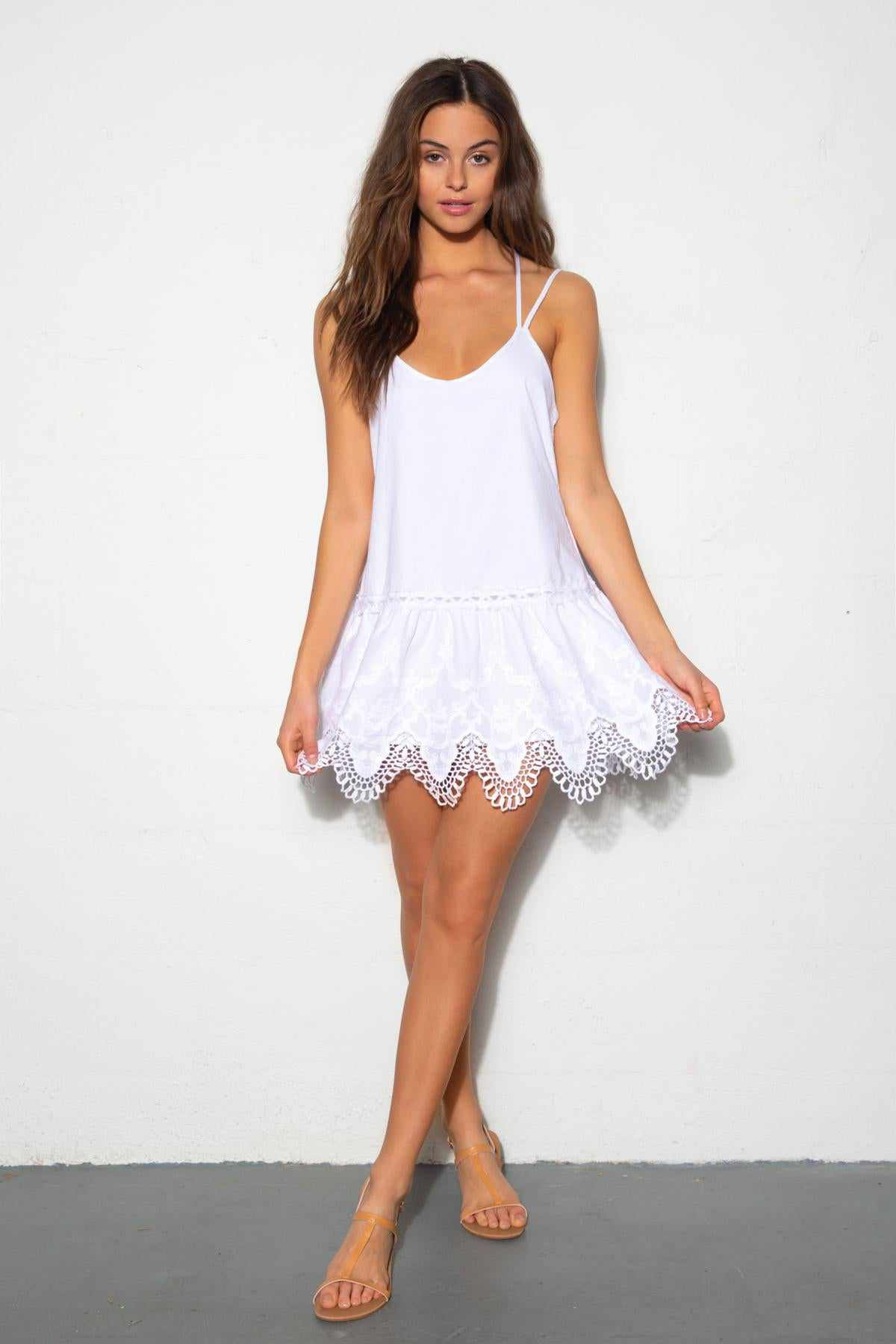 Anassa White Dress