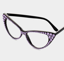 Load image into Gallery viewer, Fashion Crystal Eyewear-Violet