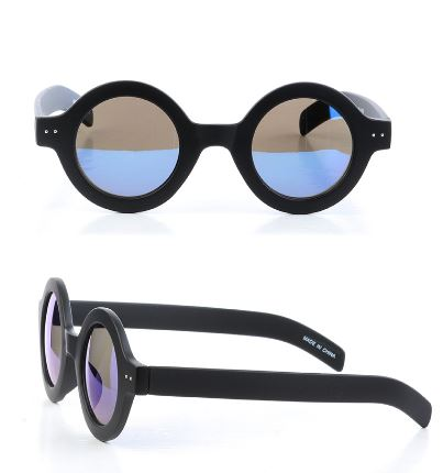 John Lennon Inspired Sunglasses-Black