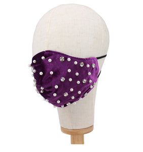 Pearl /Diamond Mask-Purple