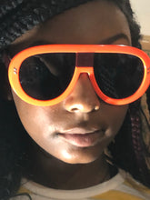 Load image into Gallery viewer, Bold Frame Oversized Sunglasses-Orange