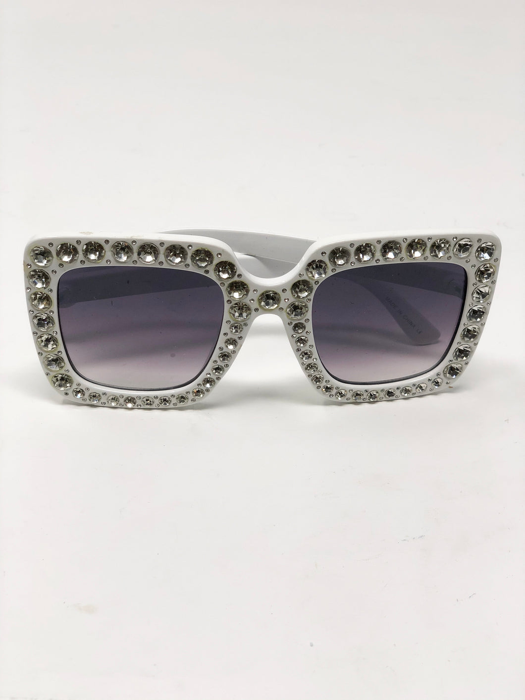 Diamond Square Crystal Sunglasses