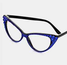 Load image into Gallery viewer, Fashion Crystal Eyewear-Blue