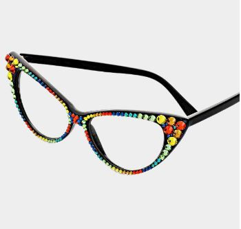 Fashion Crystal Eyewear-Multi Colors