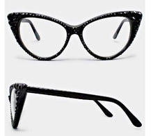 Load image into Gallery viewer, Fashion Crystal Eyewear-Black