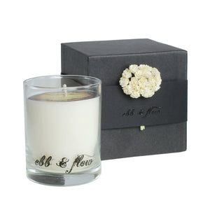 AMBER GRIS CANDLE handmade by EBB & FLOW