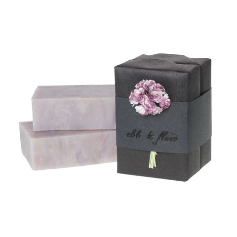 AMETHYST SOAP handmade by EBB & FLOW