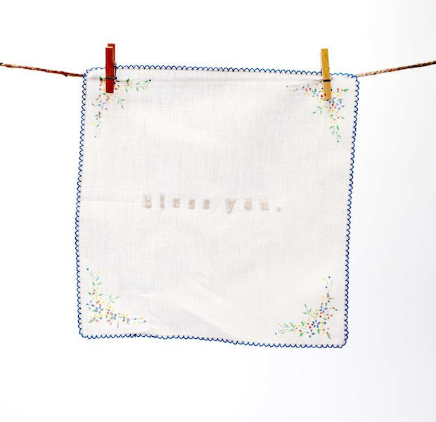 BLESS YOU HANKIES handmade by P I ´ L O