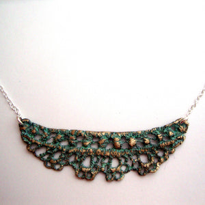 CHANTILLY LACE NECKLACE handmade by SHEENA