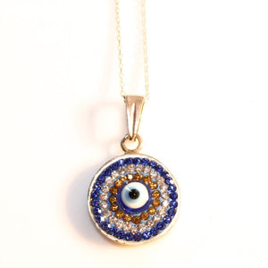 DIAMOND EYE NECKLACE handmade by SiM