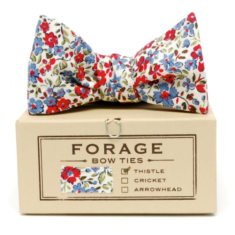 COTTON BOWTIE IN LAUREL handmade by FORAGE