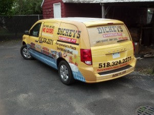 Business decals are a highly effective form of advertisement