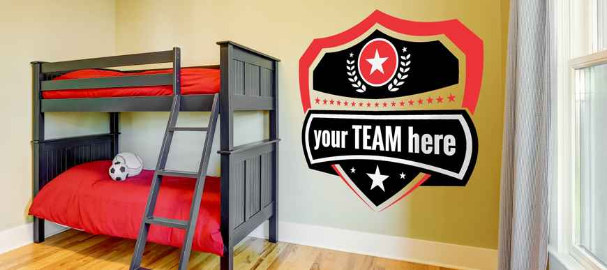 Custom Wall Decals for man caves, businesses, kids rooms & more