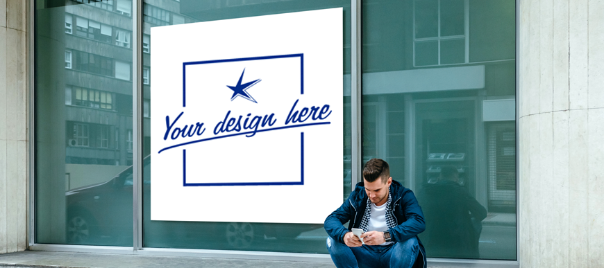 Custom Storefront Window Decals for your business