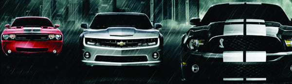 OEM Decals for Mustangs, Chargers, Challengers