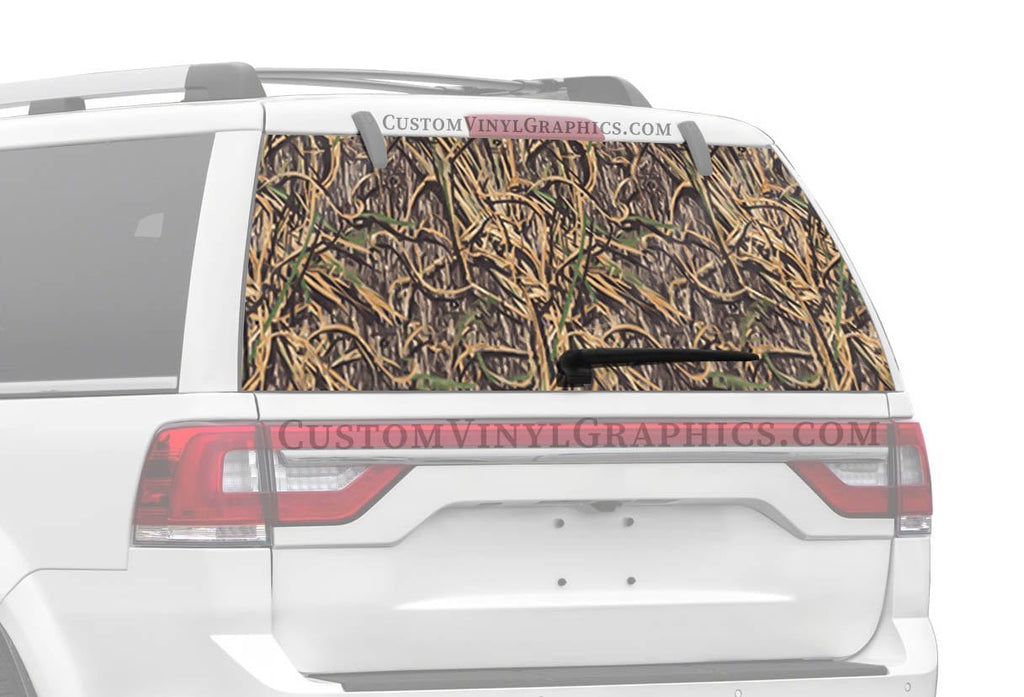 Mossy Oak Shadow Rear Window Graphics