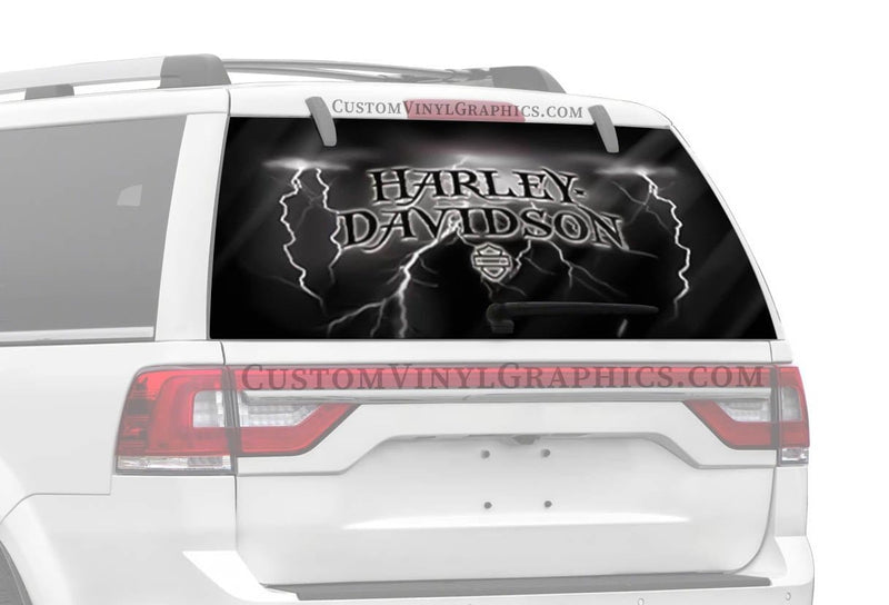 Vantage Point Strike Harley-Davidson Rear Window Graphic