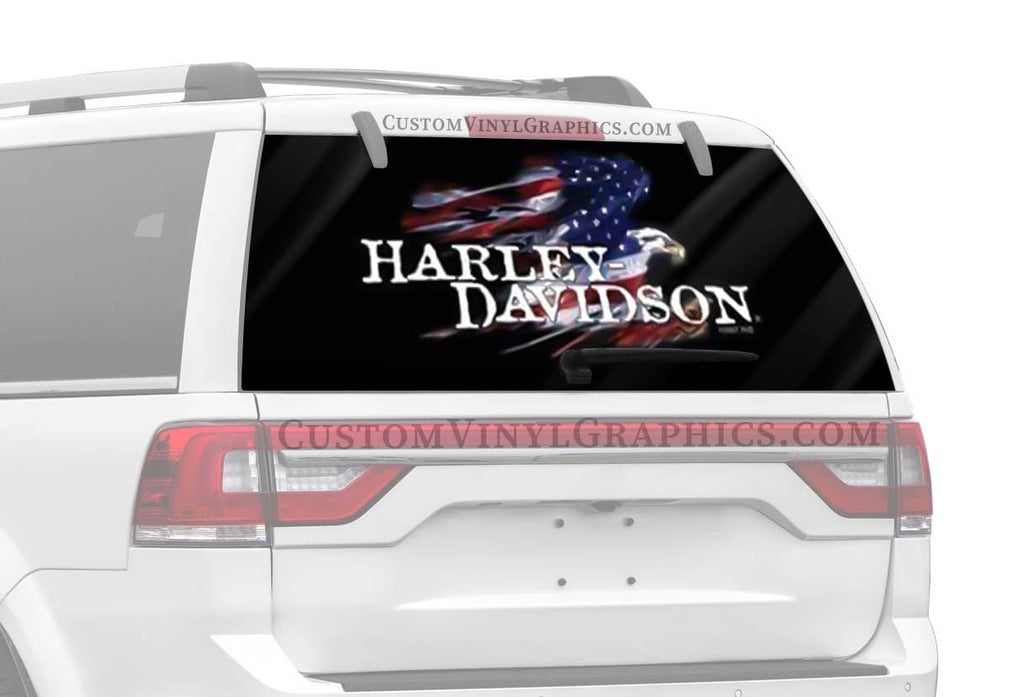 Vantage Point Glory Eagle Harley-Davidson Rear Window Graphic