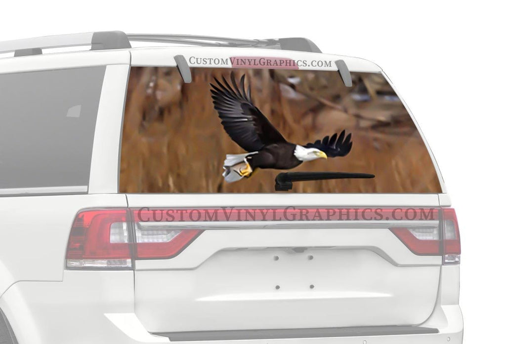 CVG Exclusive Rears Eagle Fishing Rear Window Graphic