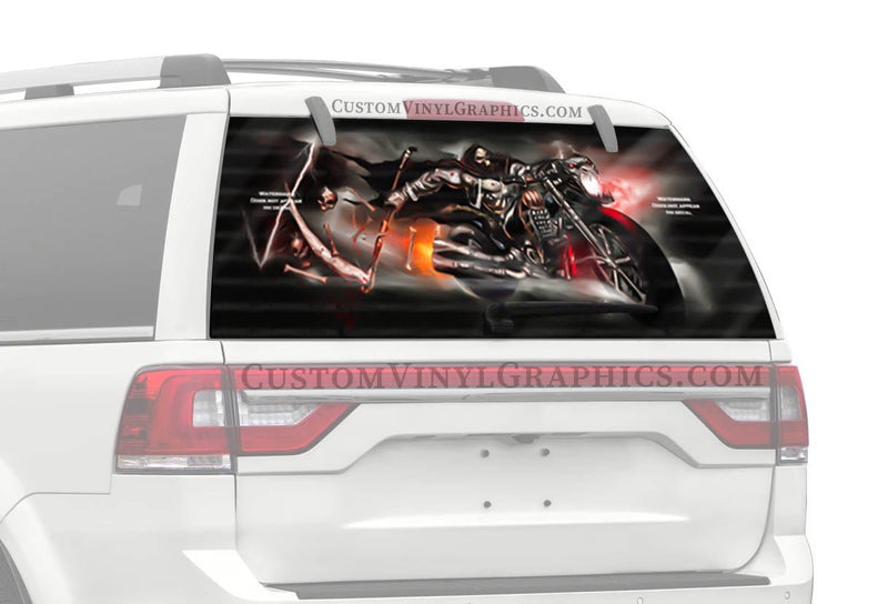 CVG Exclusive Rears Hand of Doom Rear Window Graphic