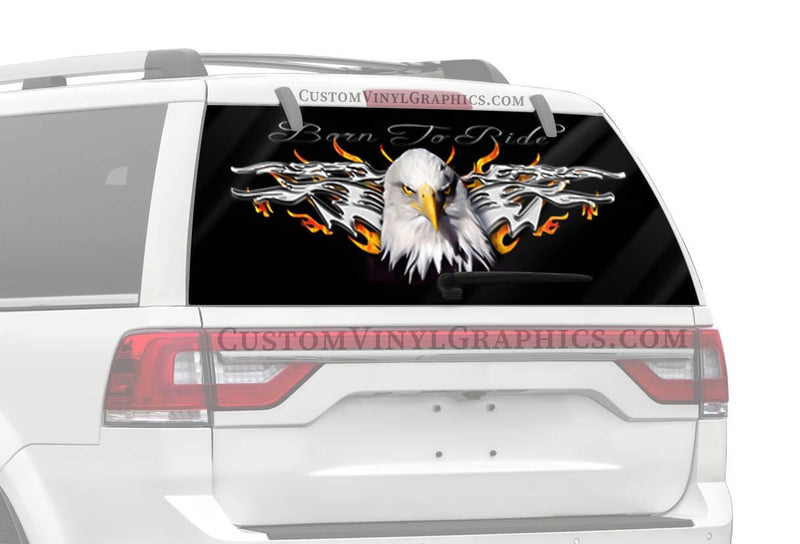 CVG Exclusive Rears Eagle Stare Rear Window Graphic