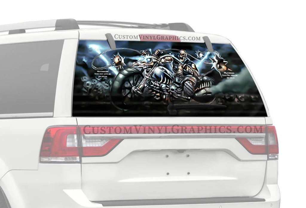 CVG Exclusive Rears Morning Star Rear Window Graphic