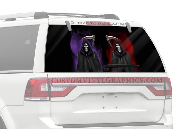 CVG Exclusive Rears Reaper Rear Window Graphic
