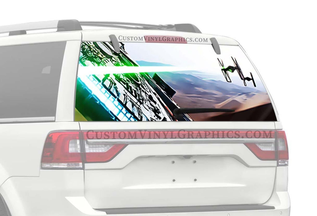 CVG Exclusive Rears Star Wars Millennium Falcon Color Rear Window Graphic