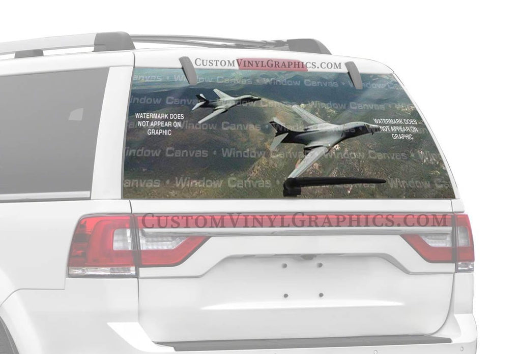 Window Canvas 2-B-1-B Rear Window Graphic