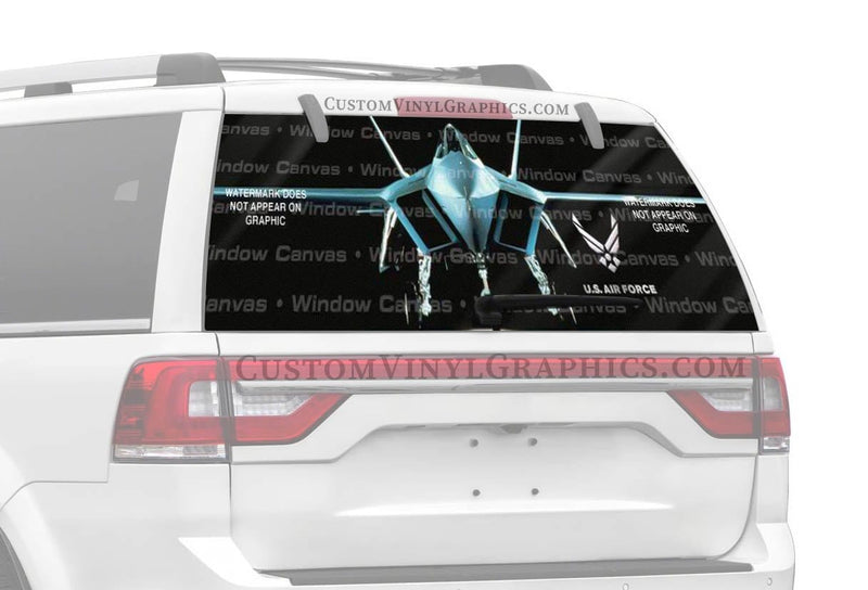 Window Canvas USAF 22 Rear Window Graphic