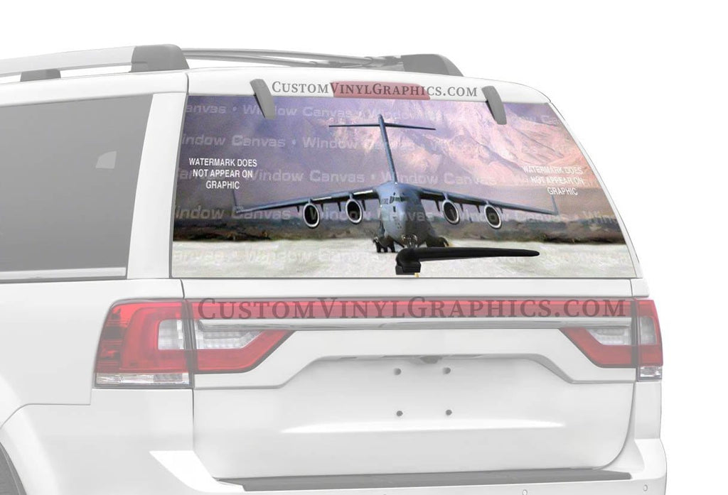 Window Canvas Re Sup Rear Window Graphic