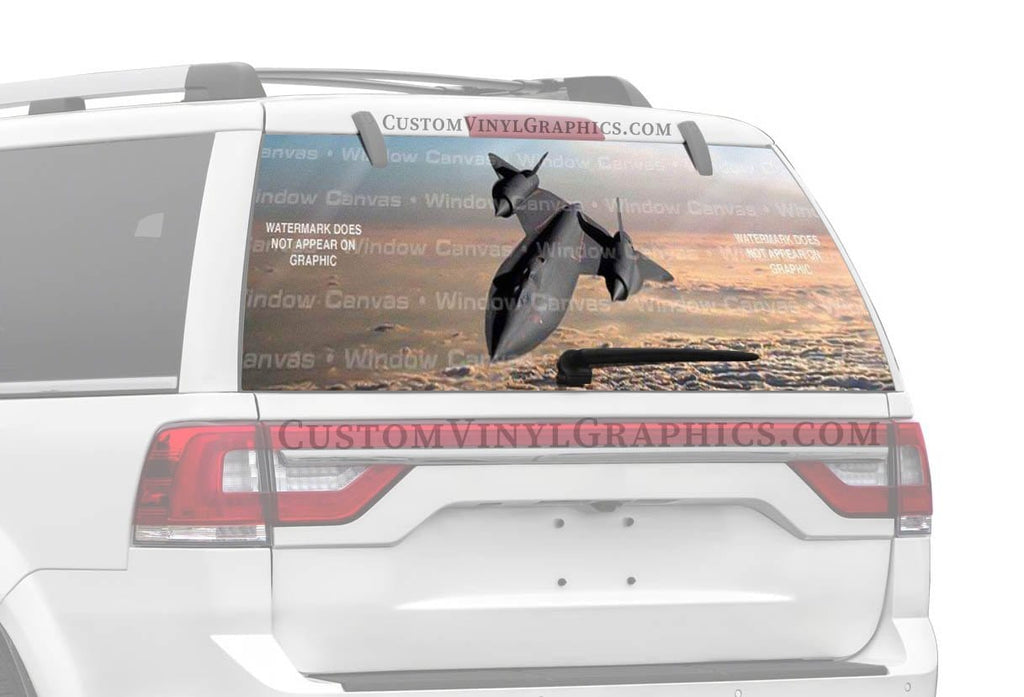 Window Canvas Blackbird Rear Window Graphic