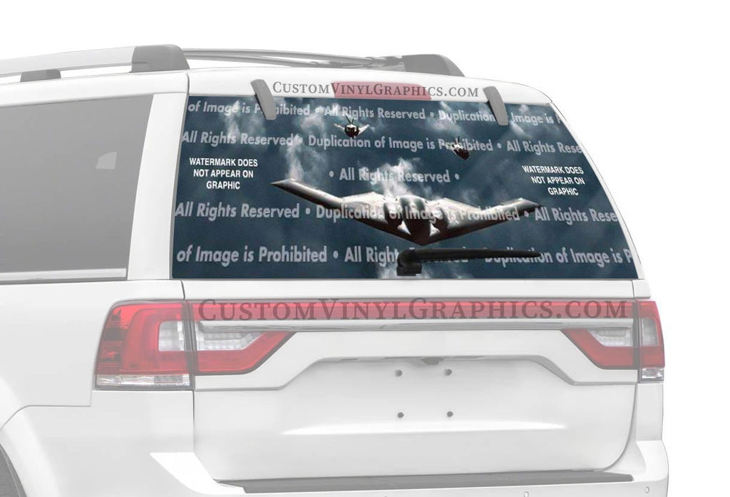 ClearVue Graphics Stealth Squadron Rear Window Graphic
