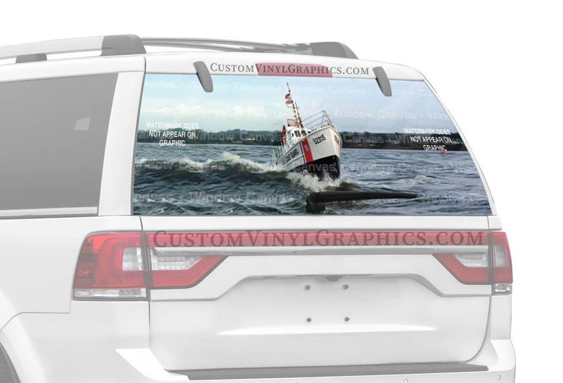 Window Canvas Sea Patrol Rear Window Graphic