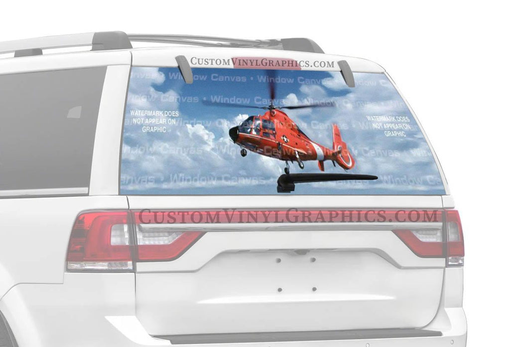 Window Canvas Dauphin Rear Window Graphic